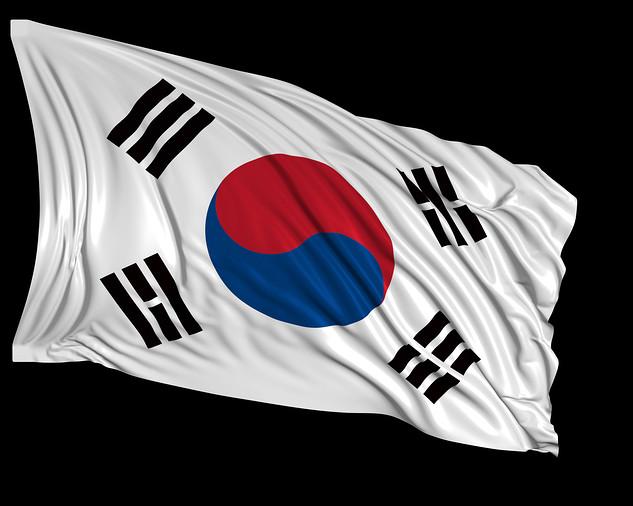 Photo of the South Korean Flag