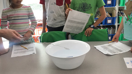 Grades 1-2 Students Learn About Vibrations and Sounds