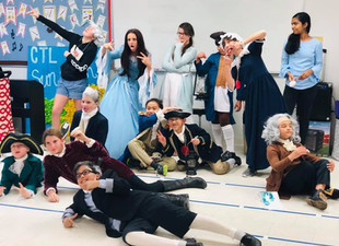 5-8 Social Studies Students Take Us Back in Time