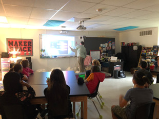 NASA Ambassador Visits 5-6 Science Class