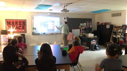 NASA Ambassador Visits 5-6 Science Class