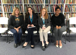 Klein Teachers Visit CTL's Reading-Writing Workshop Classrooms