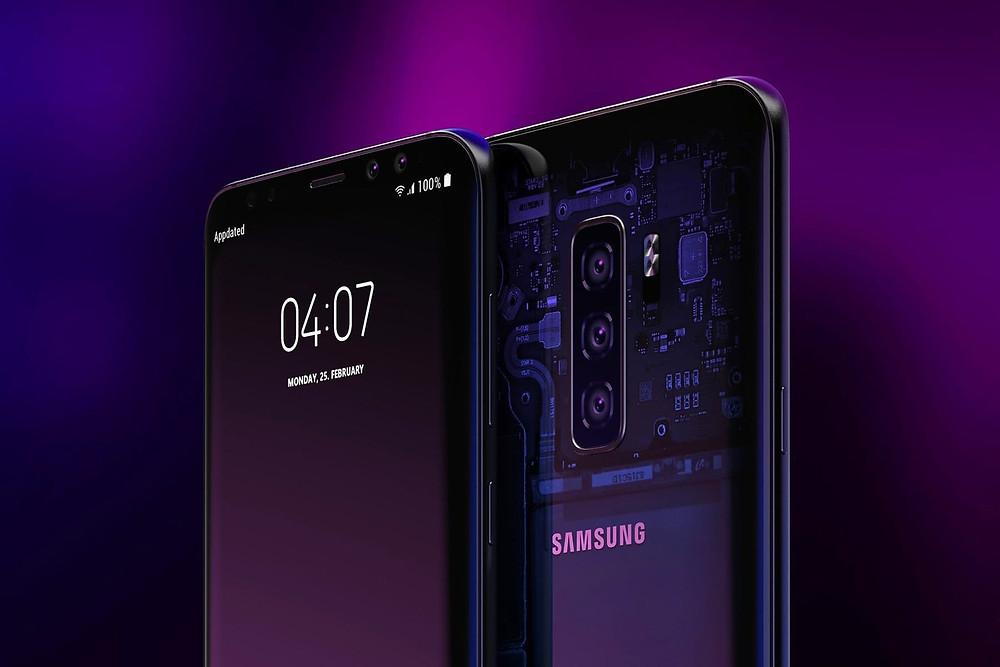 Samsung BL blockchain Wallet на S10