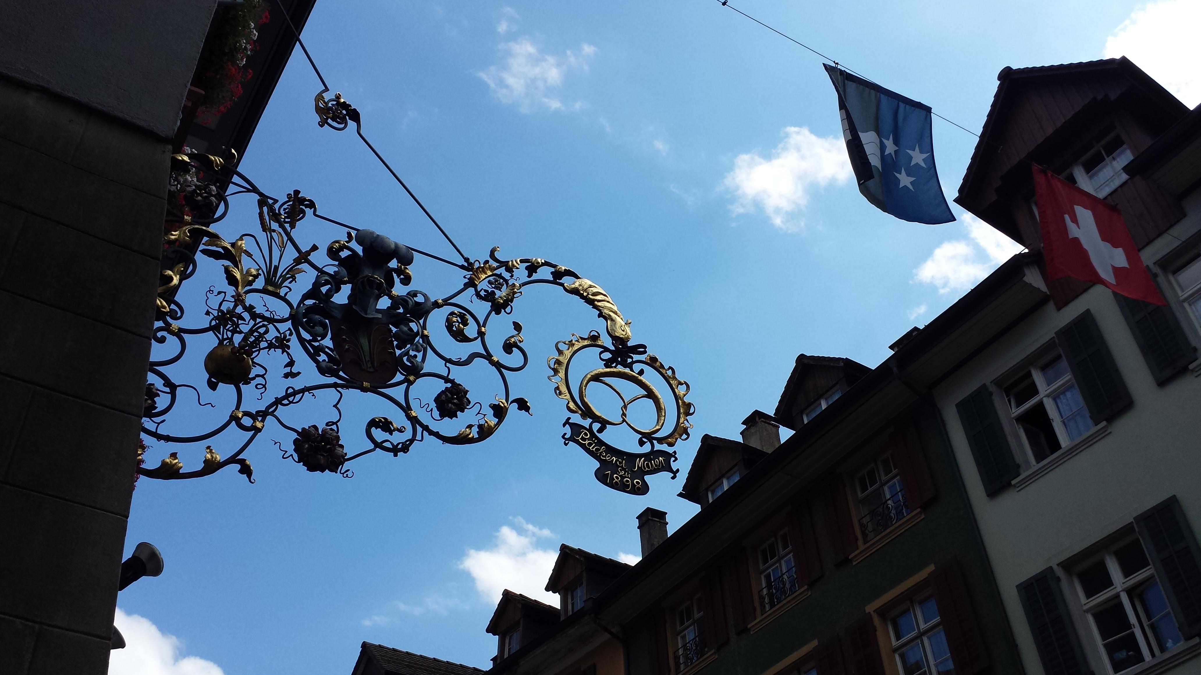 Stechschild in Laufenburg