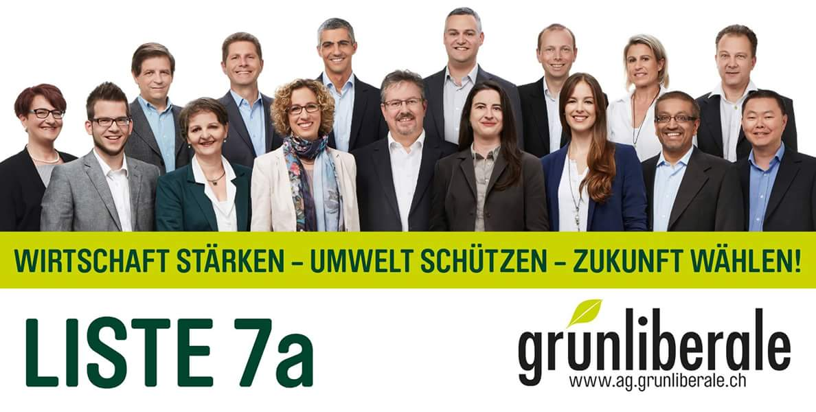 glp - Liste 7a - Nationalratswahlen