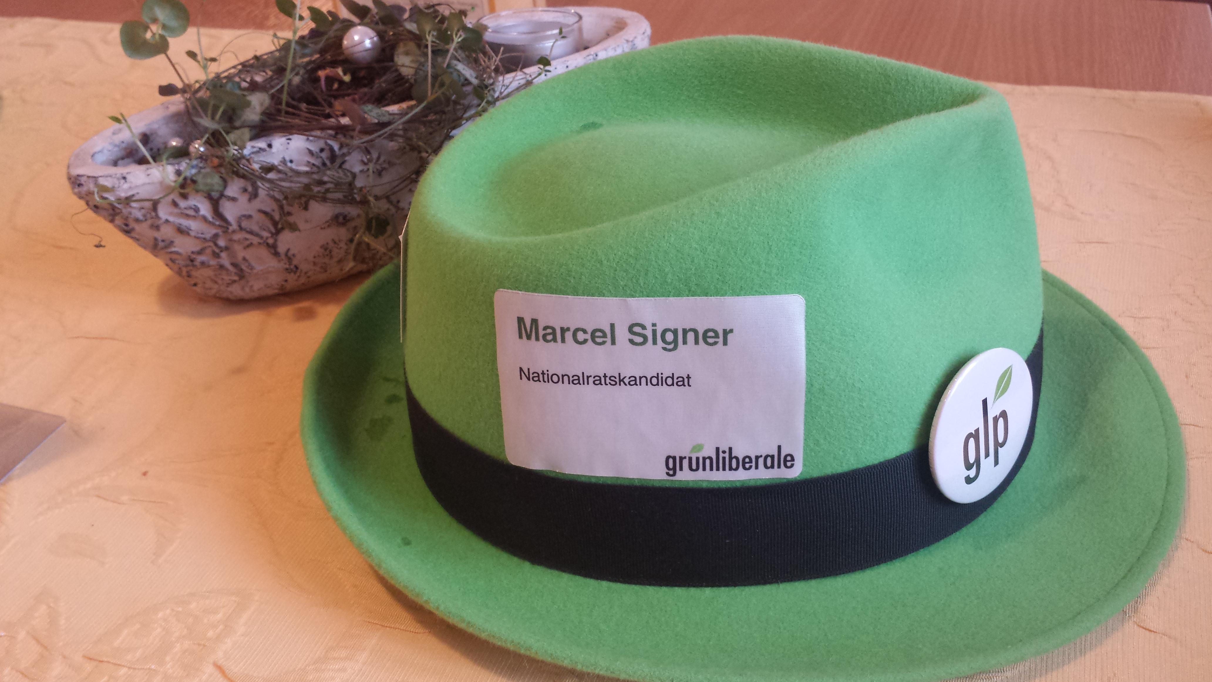 Mein grüner Hut