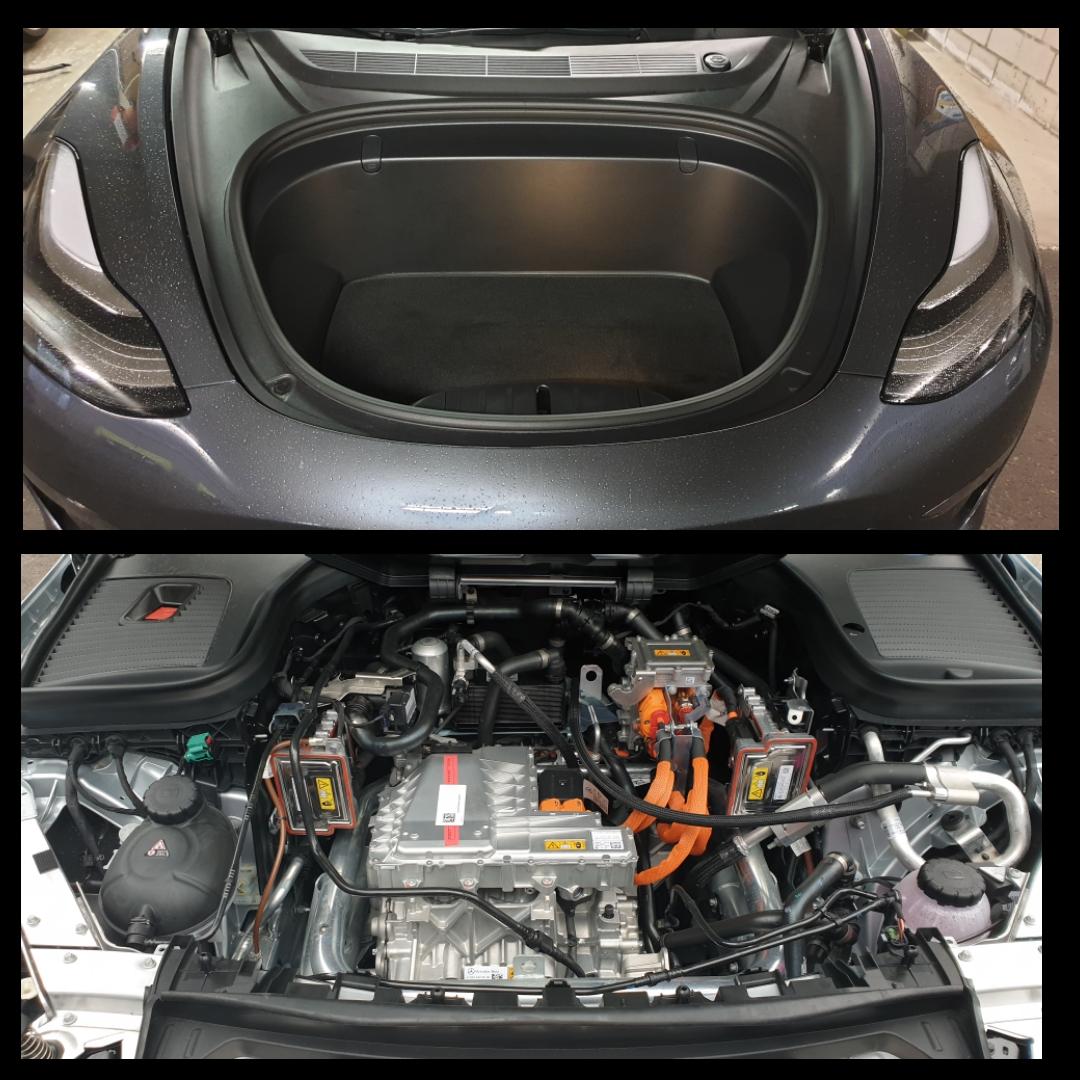Tesla versus Mercedes