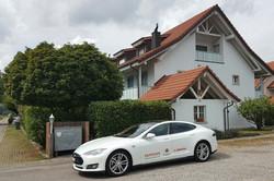 Tesla S - gemietet