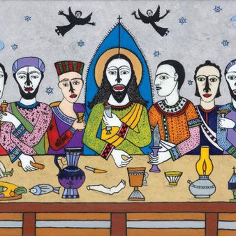 Indian artists focus on the drama of the Last Supper