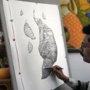 The Fine-grained Art of Ramchandra Pokale