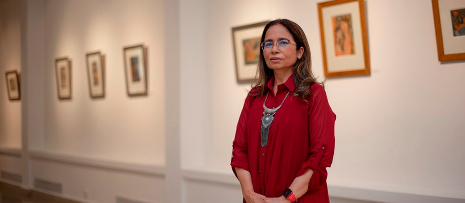Jyotika Sehgal: Inner Manifestations of the Lingual into the Visual