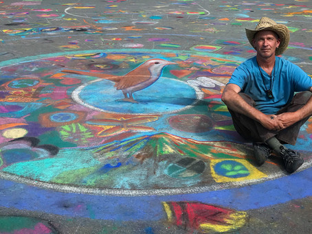 Mark Lewis Wagner: Drawing on Earth