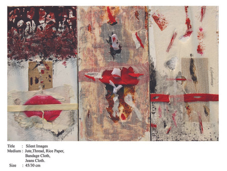Narayan Mondal: Wounded Silence of Abstraction