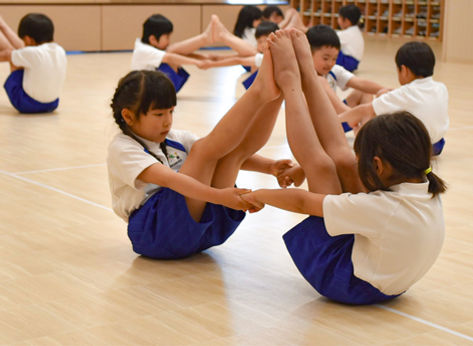 藍咲学園|体育