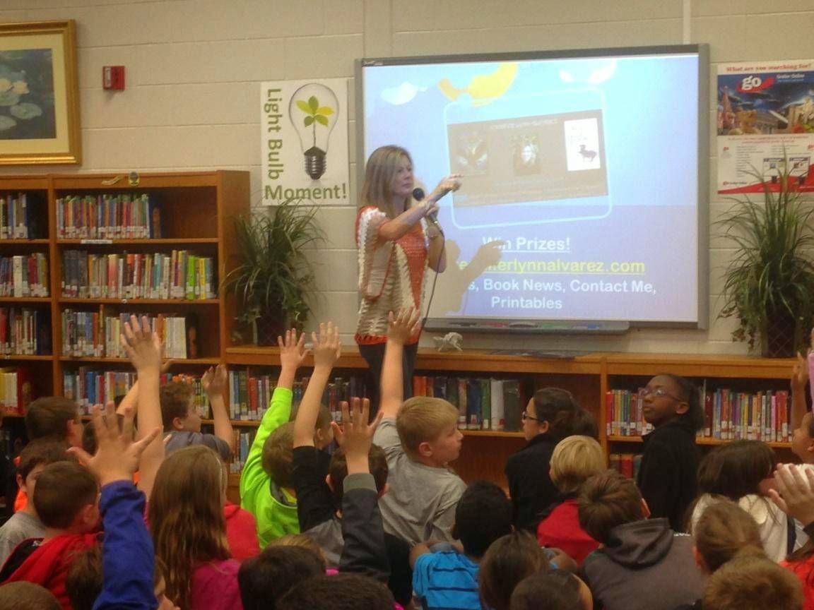 Lexington School Library Visit