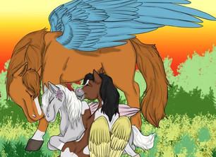 Interview with Teen Guardian Herd Fan Artist, Reannon Wimert.