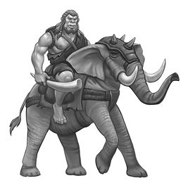 A Gorlan giant from RIDERS IN THE REALM, by Jennifer Lynn Alvarez