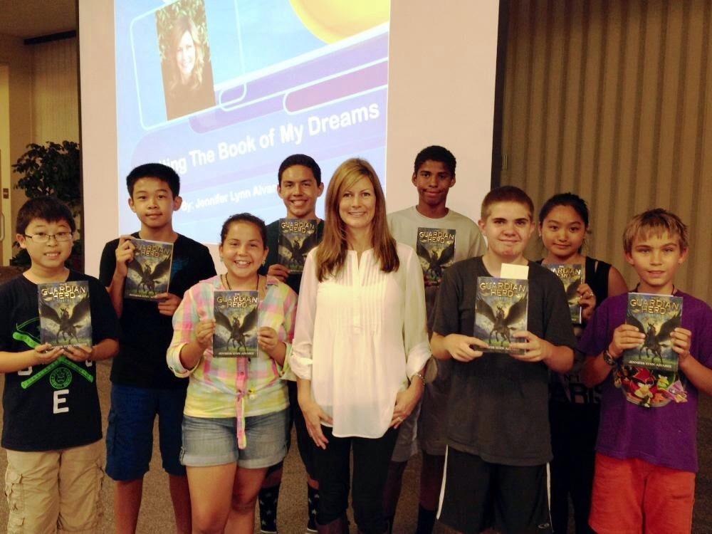 Junior High visit in Los Angelas