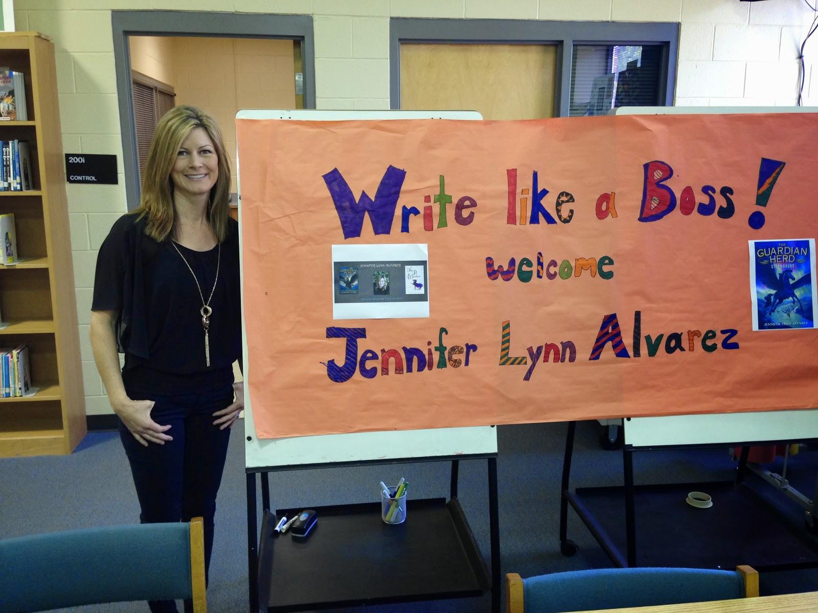 North Carolina School Library Visit