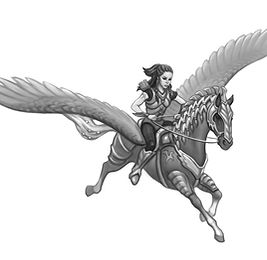 Tuni and Rizah from RIDERS IN THE REALM, by Jennifer Lynn Alvarez