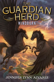 The Guardian Herd #4, WINDBORN