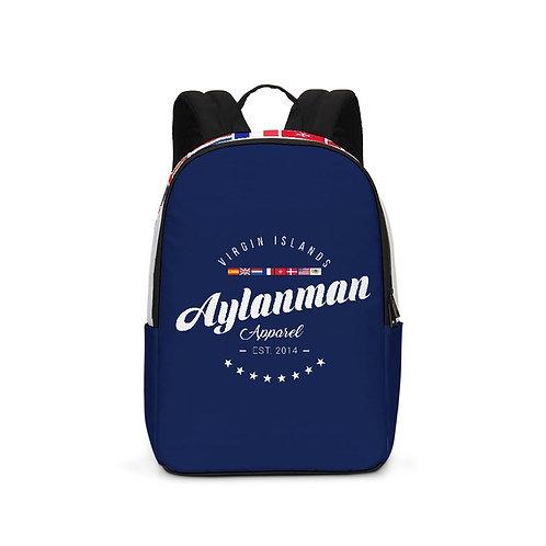 Large Backpack Aylanman Apparel Blue/White