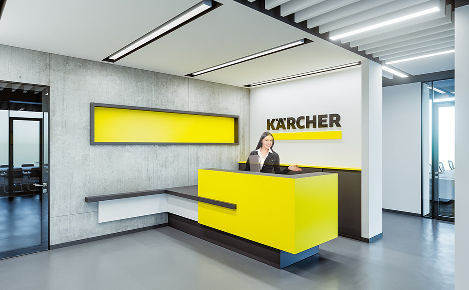 Арх-БОКС | Керхер | Офис | Зона рецепции / Arch-BOX | Karcher | Office | Reception zone / Михаил Брежнев Архитектор / Mikhail Brezhnev Architect