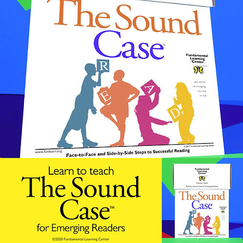 The Sound Case™ for Emerging Readers, August 5-6, 2021