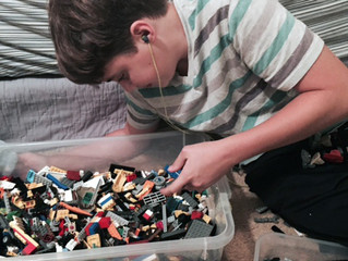 Student hopes to use super power building with Legos to help others