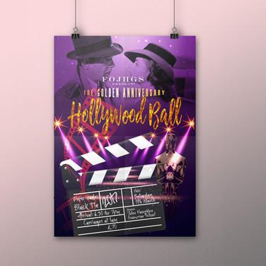 John Hampden School poster design