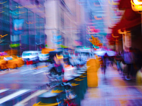 New York in a blur!