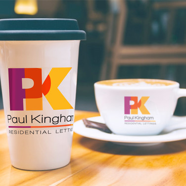 PK lettings promotional graphics