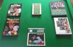 Snooker Text Books