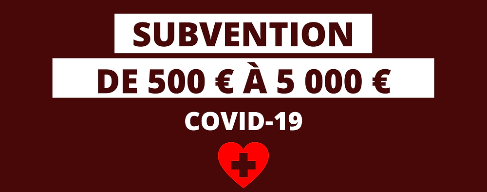 subvention securite sociale, subvention prevention covid19, subvention materiel entreprise