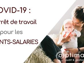 COVID-19: déclarer les arrêts de travail des salariés dont les enfants restent à domicile