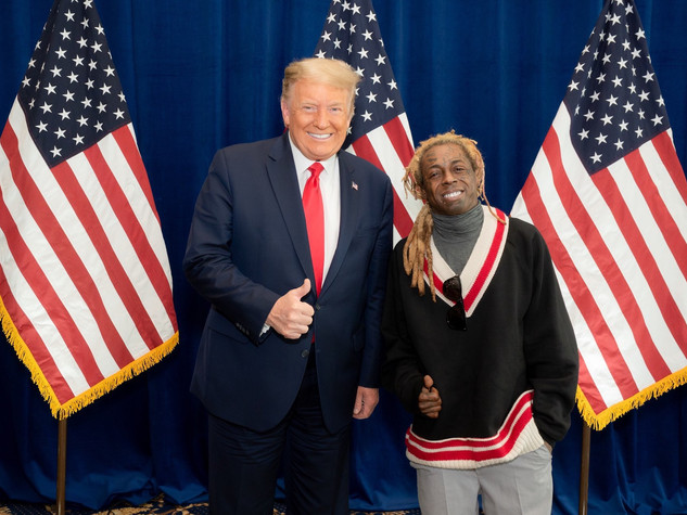 Lil Wayne seeks pardon from Donald Trump