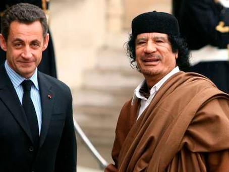 Affaire Nicolas Sarkozy : Potentiel scandale d'État (Kadhafi)