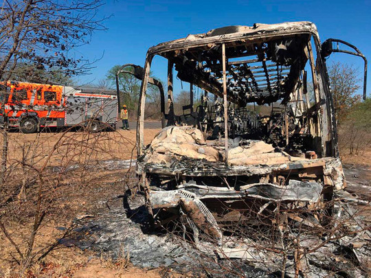 Cameroon: More than 50 passengers killed in a blaze