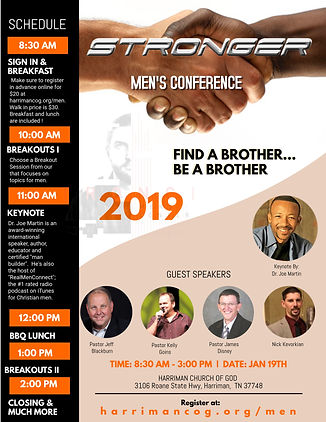 purchased Mens Conference- Harriman Chur