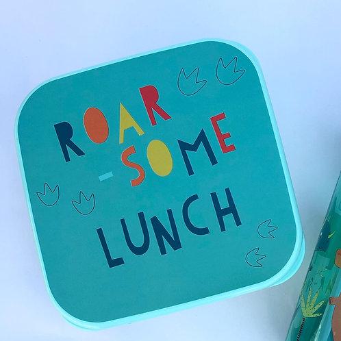 Dinosaur Lunchbox / Snack pot