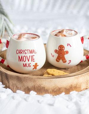 Cosy Christmas Gingerbread Mug
