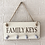 Thumbnail: Family Carved Keys Wall Plaque