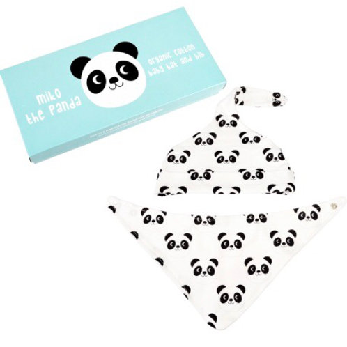 Miko The Panda Organic Cotton Gift Set