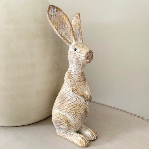 Posed Resin Bunny