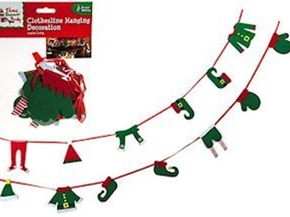 Elf Washing Line Bunting