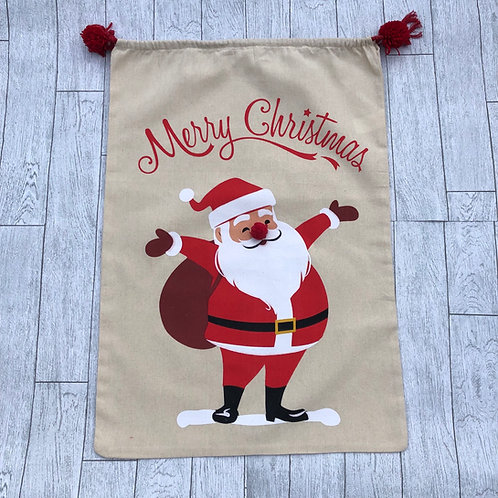Santa Claus Large Stocking