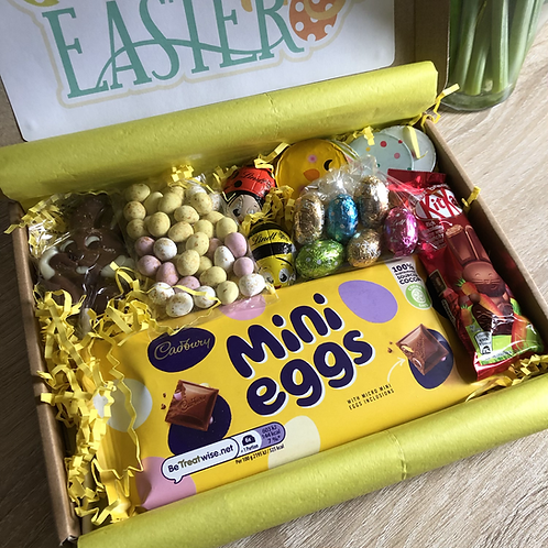 Easter Cadbury Mini Egg Letterbox Treat Box