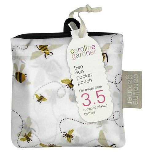 Bee Caroline Gardaner eco pocket pouch / bag