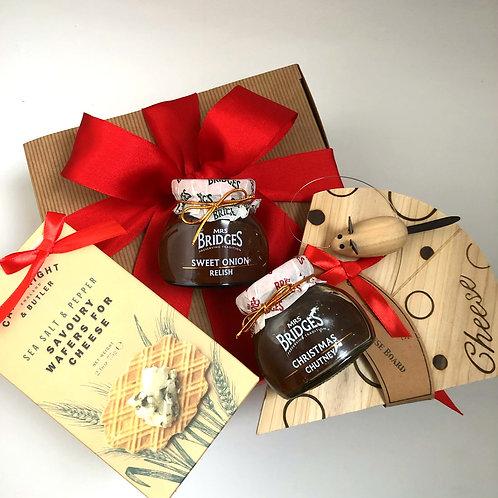 Cheese Board and Chutney Gift Box