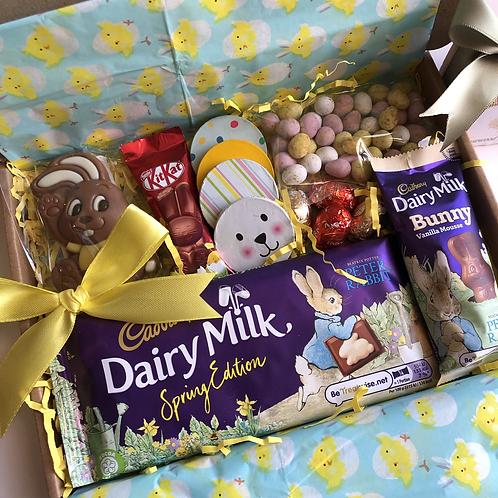Easter Cadbury Bunny Chocolate Letterbox Treat Box